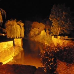 Pont de la Porte / l'eau (amont).