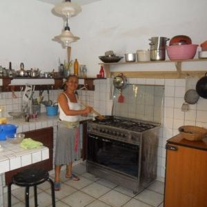 Villa Blonde, cuisine communautaire