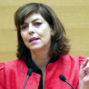 Joelle Milquet. ex ministre resp. enseignement.