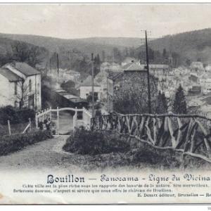 Bouillon, ville de Godefroid, ancienne carte postale