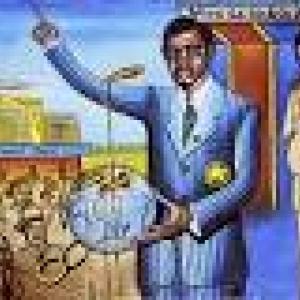 """""""Lumumba Independance """" Peinture de Tshibumba 1972"""