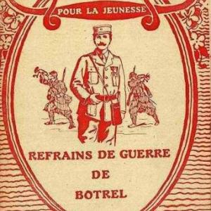 Th. Botrel, connu pour ses chansions patriotiques (guerre 14-18)