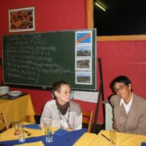 des participants au repas