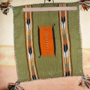 10. housse pour coussin, tissage d'El Glea, Grand sud: 10 euros (nombreux motifs divers)