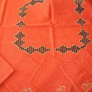 5. nappe, broderie masloul, de Tibhirine: 1x1m, avec 4 serviettes(32 euros)