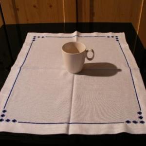 45. chemin de table, broderie masloul