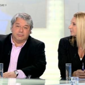 Christophe Giltay et Emmanuelle Praet.