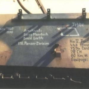 Le num de chassis 124 317 (Photo Ph. Elias)