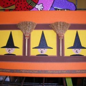 Une fresque pour Halloween