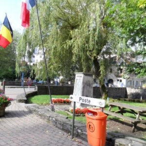 Petite place rappelant le grenadier Sebald, mort au champ d'Honneur en 1914.