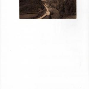 Le tournant de la route de La Roche, auparavant.