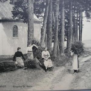 au programme de la prochaine balade, le 11 oct. 2007: la chapelle St-Roch (ici, avant 1914)