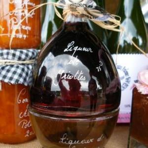 liqueur de griottes et de clementines