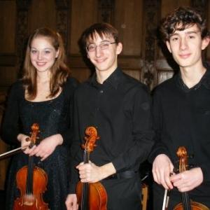 Les solistes: Claire Solagna, Ted Koob, Constantin Riccardi