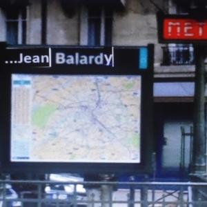 metro de paris, station Jean Valhardy