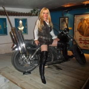 ... en Harley-Davison