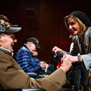Nancy Pelosi. Bastogne. 19.12.2020. Extrait du site propre de Nancy Pelosi, présidente de la Chambre des USA.