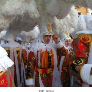 Carnaval van Binche van zondag 2 maart 2014 tot dinsdag 4 maart 2014
