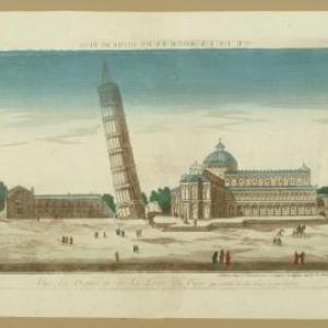 pisa, J. Chereau, 18de eeuw