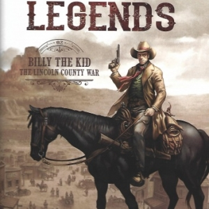 West Legends, tome 2 - Billy the Kid - the Lincoln county war