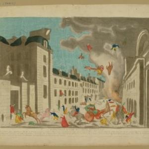 Bonaparte ontsnapt aan een bomaanslag, Basset, na 1800