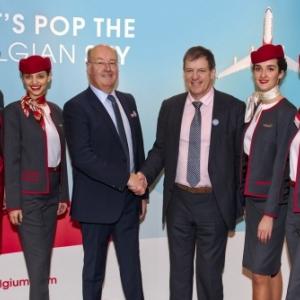 Un tout nouvel aéroport de Brussels South Charleroi Airport emmènera les passagers d'Air Belgium en Chine