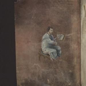 Évangéliaire de Xanten, Aix-la-Chapelle (?) ou Reims (?), IXe siècle, parchemin, KBR