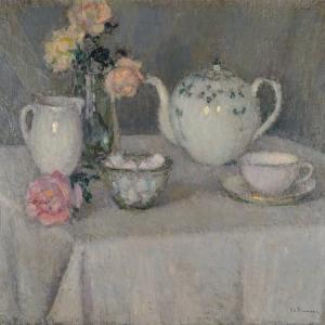 la tasse de thé