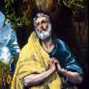 De tranen van de heilige Petrus
