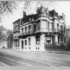 hotel aubecq begin 20ste eeuw (©musée Horta)