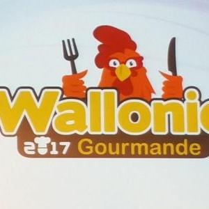 """Un coq symbolisera la """"Wallonie gourmande"""", thématique de l'année touristique 2017"""