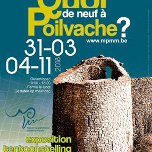 """"""" Quoi de neuf à Poilvache? """" à la Maison du Patrimoine Médiéval Mosan"""