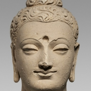 Tête de Bouddha © RMN-Grand Palais (MNAAG, Paris) / Thierry