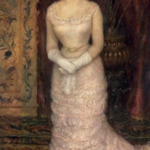 Pierre-Auguste Renoir (1841–1919), Portret van de actrice Jeanne Samary [Portrait de Mlle Jeanne Samary], © State Hermitage Museum, St Petersburg