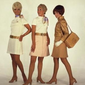 Drie Sabena-uniformen