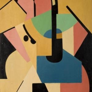 Marthe Donas (1885-1967), Compositie nr. 6, 1920, Privéverzameling
