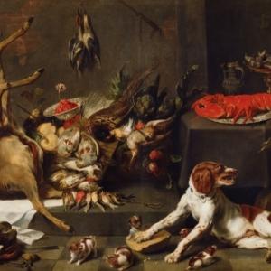 Nature morte, Frans Snyders (1579-1657), © Collection Belfius Banque / photo Hugo Maertens