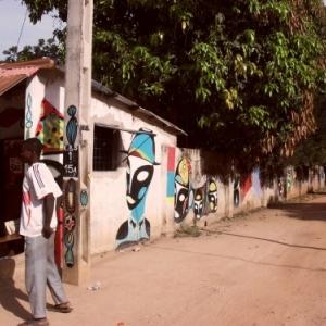 ART DE RUE INTERNATIONAL MET LA GAMBIE EN VALEUR