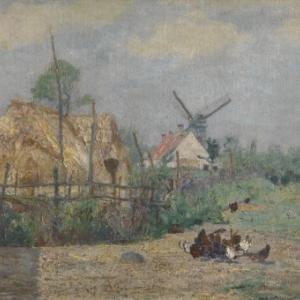 De Kalfmolen, Paul Baum, Hugo Mertens