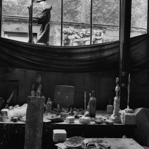atelier Giacometti. photo marc vaux