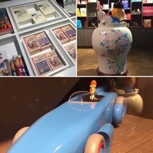 une Galerie d'art Tintin vient d'ouvrir au Sablon à Bruxelles