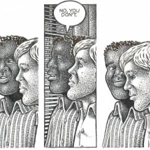 La Galerie Comic Art Factory  présente la première exposition européenne  d'Howard Cruse (USA), L'amour gay.