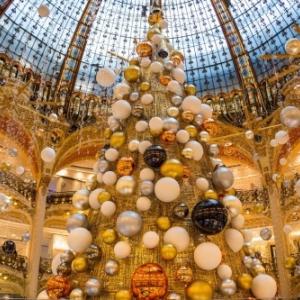 Noël 2015, Galeries Lafayette