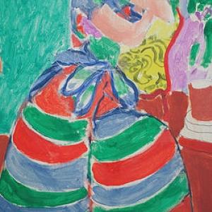 Paul Gauguin, Le sorcier d'Irva Oa, copywright sabam belgium 2016
