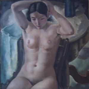 Nu assis, 1932 © Léon DEVOS © MiLL