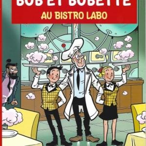 Bob et Bobette album 349 : Au bistro Labo