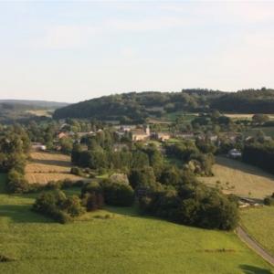 le village pittoresque de Fanzel