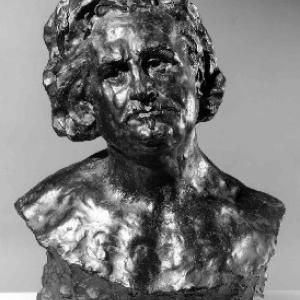 """Buste d'Honore de Balzac/""""Royal Fine Arts Museum""""-Bruxelles"""