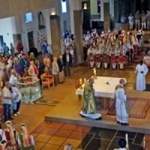 Une Ceremonie oecumenique internationale, cette annee, pour la 1ere fois, en l eglise de Velaine