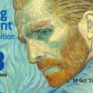 """L Expo """"Loving Vincent"""", d Utrecht a Ixelles"""